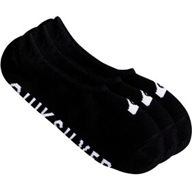 Quiksilver Liner Socks 3 Pack Black
